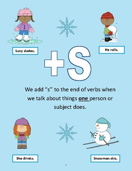 Third Person Singular -S Mini-Lesson - Speech and Language Therapy