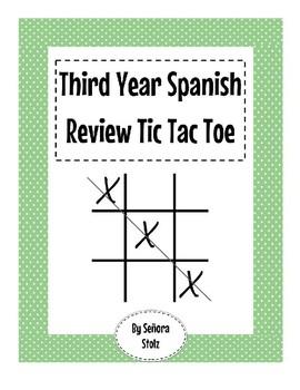 Third Year Review Tic Tac Toe