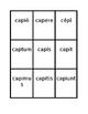 Third conjugation -io Present active Latin verbs Spoons game / Uno game