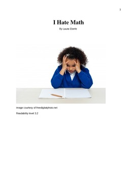 Common Core ELA Third grade Narrative text with comprehension questions