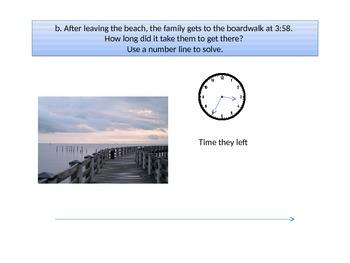 "Third grade  Math Critical Area 3 ""The Beach"" Performance Task"