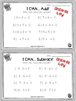 Third grade Exit Slips: Adding and Subtracting
