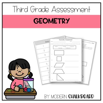 Third grade Geometry Assessment 3.G.A.1