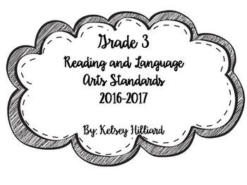 Third grade Reading and language Arts common core standard