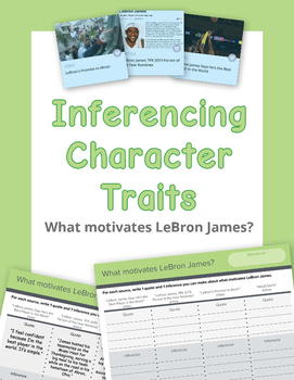 Inferencing character traits. What motivates LeBron James?