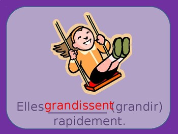 Third person plural of the present tense / Ils and elles / La troisième personne