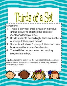 Thirds of a Set