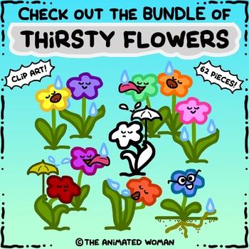 Thirsty Flower – Clip Artists Collab FREEBIE