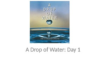 Louisiana Guidebook: A Drop of Water (Thirsty Planet Unit) Day 1-4