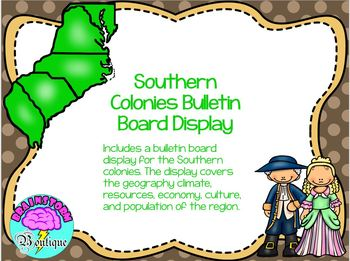 Thirteen Colonies Bulletin Board Display Bundle