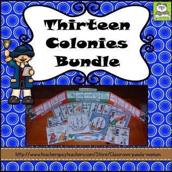 British Colonial America Bundle (Task Cards Included)