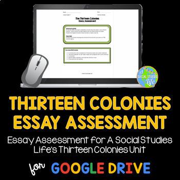 Thirteen Colonies Essay Test
