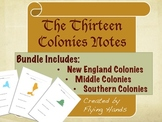 Thirteen Colonies - Notes