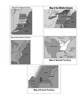 Thirteen Colonies Pamphlet (Graphic Organizer)