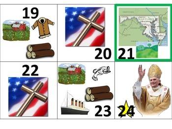 Thirteen Colonies Pattern