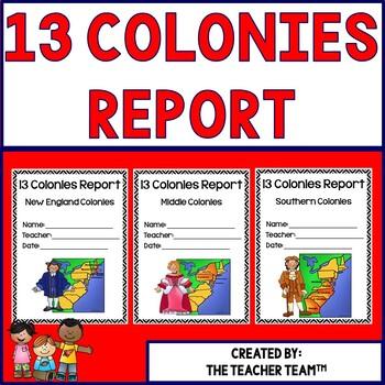 Thirteen Colonies Research Report
