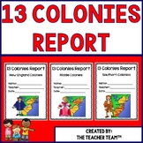 Thirteen Colonies | 13 Colonies Project | Research Report