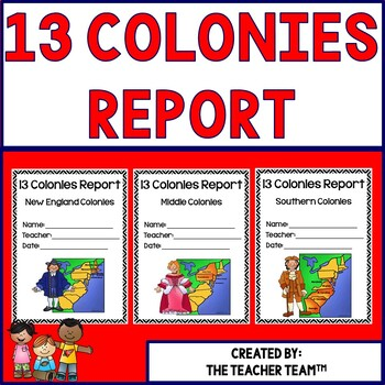 Thirteen Colonies Research Report