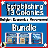 Thirteen Colonies Religious Freedom Government Economy Rea