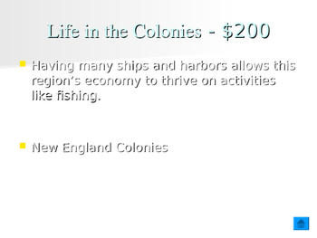 Thirteen Colonies Review Game