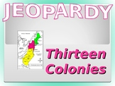 Thirteen Colonies Review Jeopardy