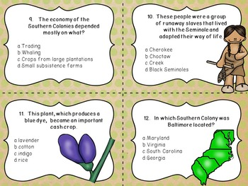 what was the major economy of the southern colonies