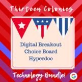 Thirteen Colonies Technology Bundle: Digital Breakout, Hyp