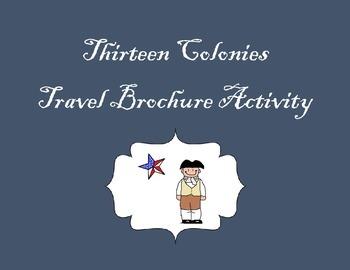13 Colonies - New England Colonies Brochure