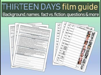 Thirteen Days film guide: background, fact vs. fiction, qu