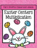 Easter Math Center Multiplication Bundle
