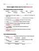 Thirteen English colonies in America, the New World - Test packet