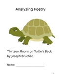 Thirteen Moons on Turtle's Back Poetry Packet