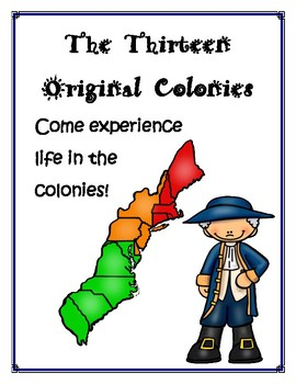 Thirteen Original Colonies A New World Lapbook