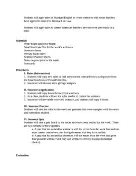 Thirteen Reasons Why Editing and Grammar Practice