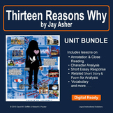 13 Reasons Why by Jay Asher: (Thirteen Reasons Why) Unit Bundle