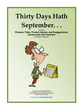 Thirty Days Hath September. . .