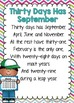 Days in the Month Poem