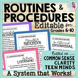 Classroom Procedures & Routines | Classroom Management