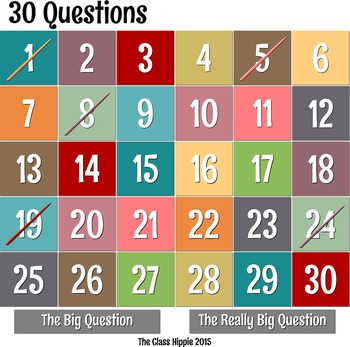 Thirty Questions:  Compound and Complex Sentences
