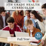 Elementary Health Curriculum Made Easy!: Full Year 5th Gra
