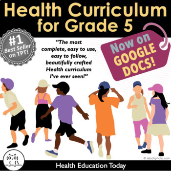 Elementary Health Curriculum Made Easy!: Full Year 5th Grade Health Lessons
