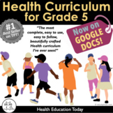 5th Grade Health Full Year! Now on GOOGLE SLIDES for Dista