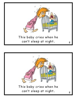 This Baby Cries Reproducible Guided Reader