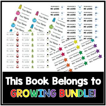 This Book Belongs to GROWING BUNDLE