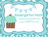 EngageNY Eureka Math Entire Year ALL of the Kindergarten Math Modules 1-6 Bundle