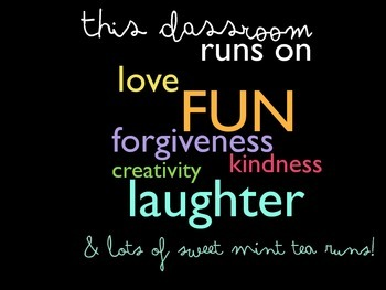This Classroom Runs On....