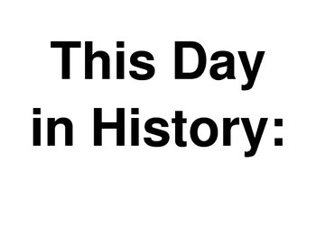 This Day In History- October