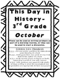 This Day In History - October (Student Ready Version)