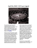 This Day in History - April 4: NATO pact is signed (no prep/sub plans)