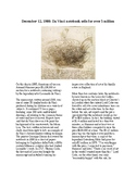 This Day in History - December 12: DaVinci Book Sells for $5 Million (no prep)